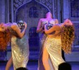 Обучение восточным танцам - танец с шарами